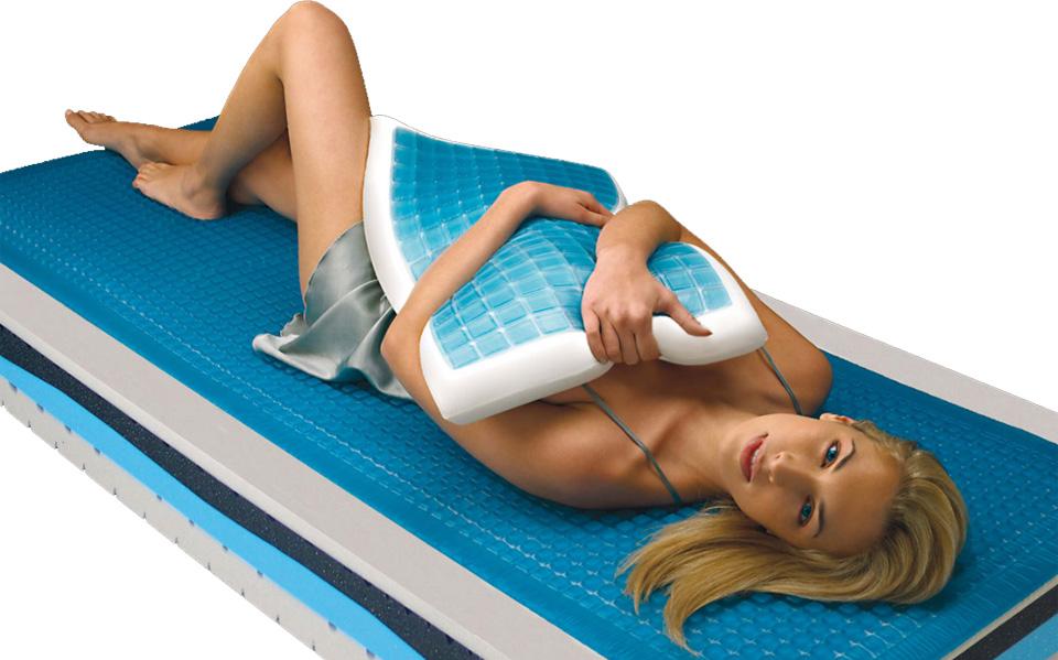 Възглавници с гел за здрав сън!